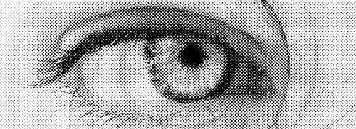 eye halftone
