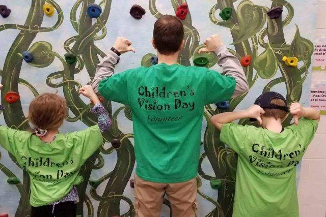 Dr. Belill optometrist Children's Vision Day