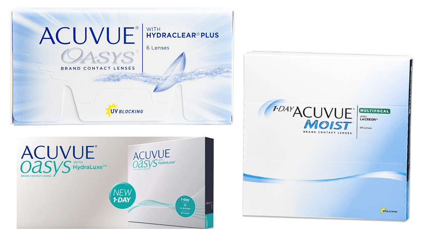 Accuvue images campaign featured contacts