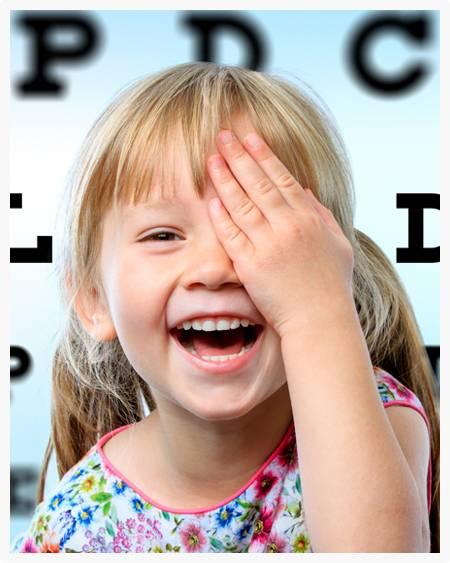 pediatric eye care Federal Way WA