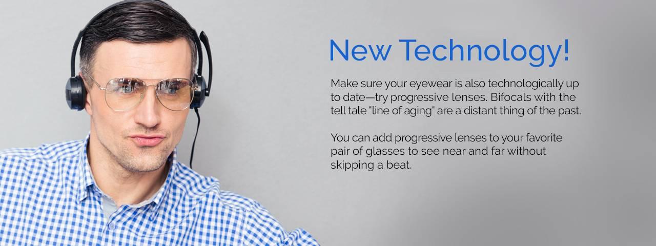 New Eye Technology-Progressive Lenses