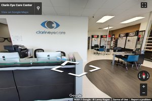 Clarin eye care virtual tour 1