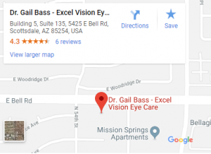 Excel Vision small google map 300x218