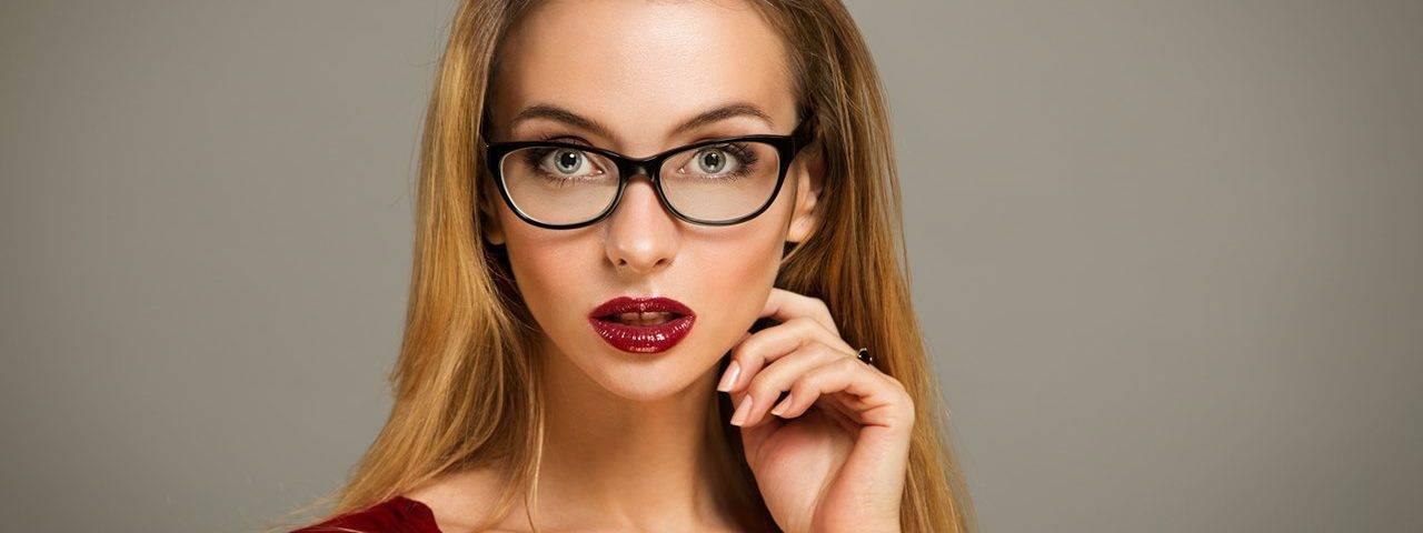 glasses glamour female surprised 1280x480