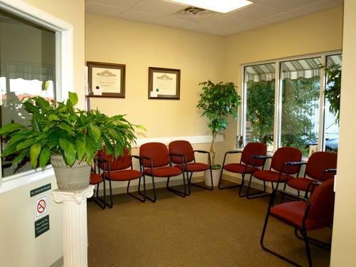 st pauls vision center waiting room
