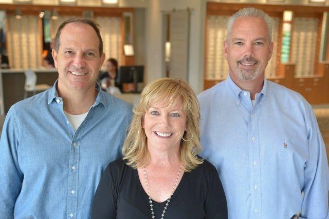 Dr. John Valle, Dr. Shara Draper, and Dr. Brian Mays