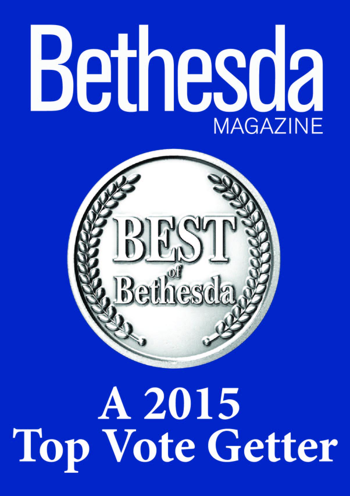 Best of Bethesda 2015 Top Vote Getter