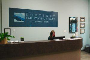 Inside Kootenay Family Vision Care, Cranbrook, BC
