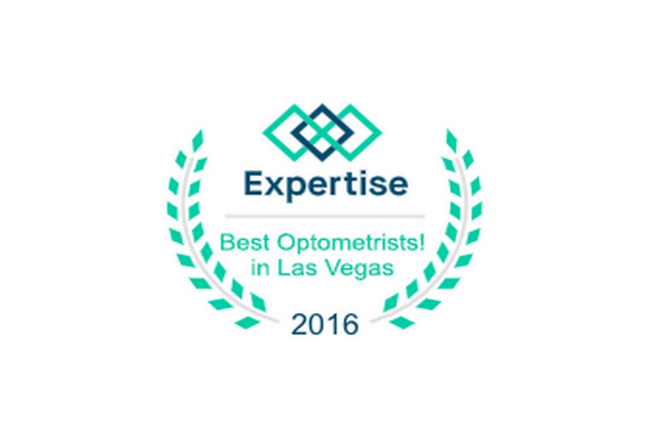 2016 Best Optometrist in Las Vegas award