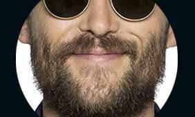 man wearing UV protective sunglasses in Las Vegas