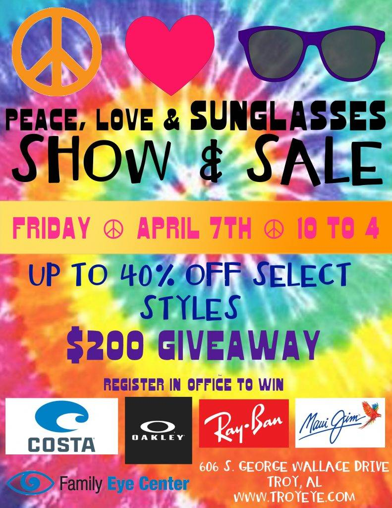 Sunglass Sale in Troy at Family Eye Center