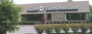 Outside of Our Eye Care Clinic in Johnson City
