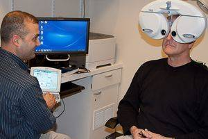 eye exam mentor