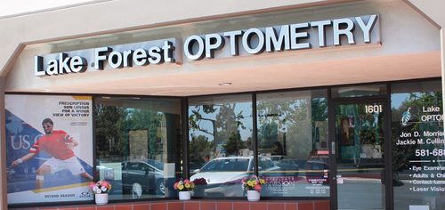 The Lake Forest Optometry office