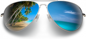 mj-glasses-beach-reflection