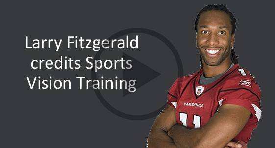 Larry Fitzgerald Sports Vision Training Therapy