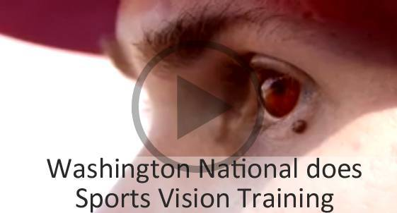 Washington Nationals Vision Therapy Training