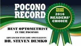 Pocono Record Best Optometrist