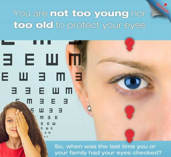 eye exams for patients of all ages