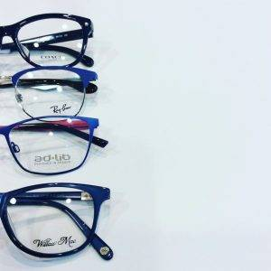 eyeglasses contacts compressed