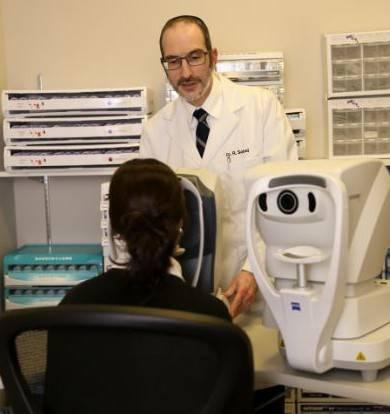 Dr. Sobel in Pretest Room small
