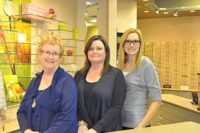 Joyce, Joanna & Dorothy of Sheridan Optometric Centre