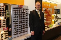 Danbury Lenscrafters Team. Meet Michael our Manager. Ask him anything, he's always got time just for you!