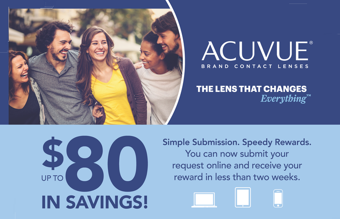 3 Steps to Start Earning Acuvue Rewards - Click for Instructions!
