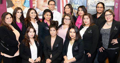 eye care staff at Buena Vista Optical in Chicago