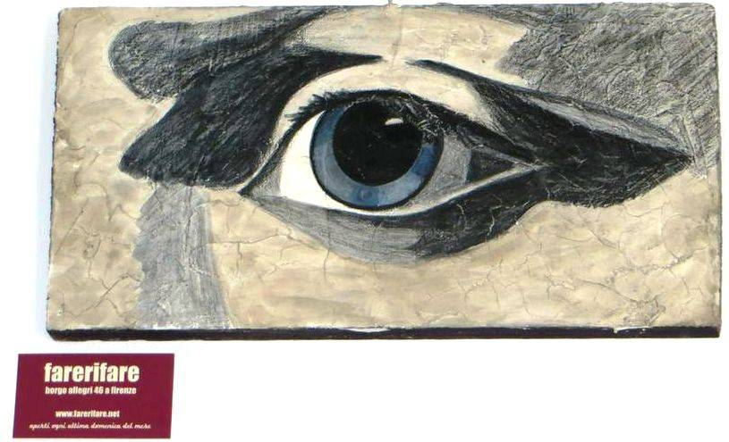 Jacobs eye painting