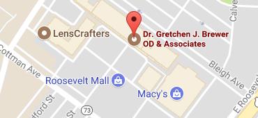 Brewer map roosevelt mall 1