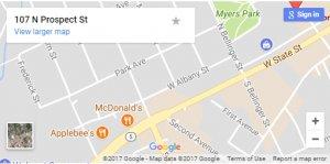 Knapp Herkimer map