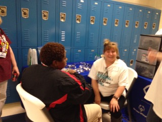 Hopkins Eye Center Participating in the Special Olympics