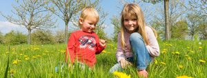Brother and Sister Outdoors 1280×480