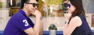 Couple Sunglasses at Cafe 1280×480