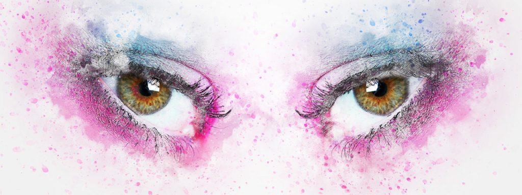Painted Eyes 1280×480