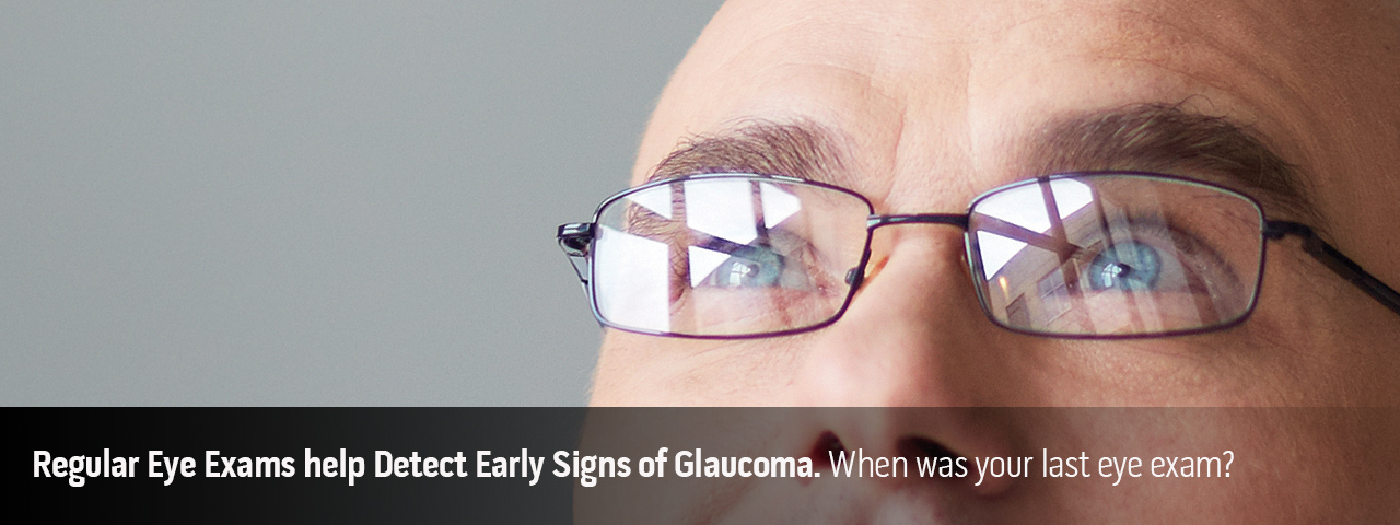 Slide:copy talks about early detection Glaucoma exams