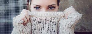 Woman Blue Eyes Sweater in O'Fallon, Wentzville, Hillsboro & Cottleville, MO