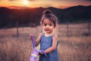 Child Sunset Mountain 1280×853