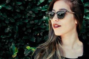 girl sunglasses greenery   LASIK treatment in Coronado, CA