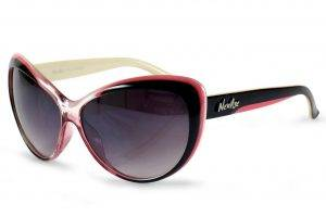 pink and black sunglasses