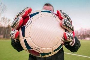 Sport soccer ball bkground med