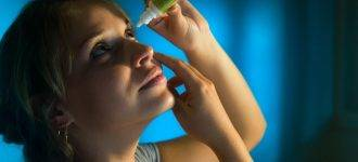 Woman Putting in Eye Drops 1280x480 330x150
