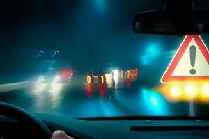 blurry night driving eye emergencies at Dr. Bruce Reid in Buford