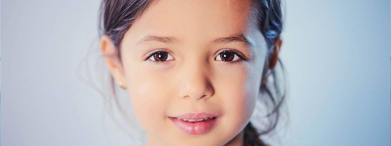Child Girl Brown Eyes 1280x853