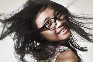 glasses asian teen filter