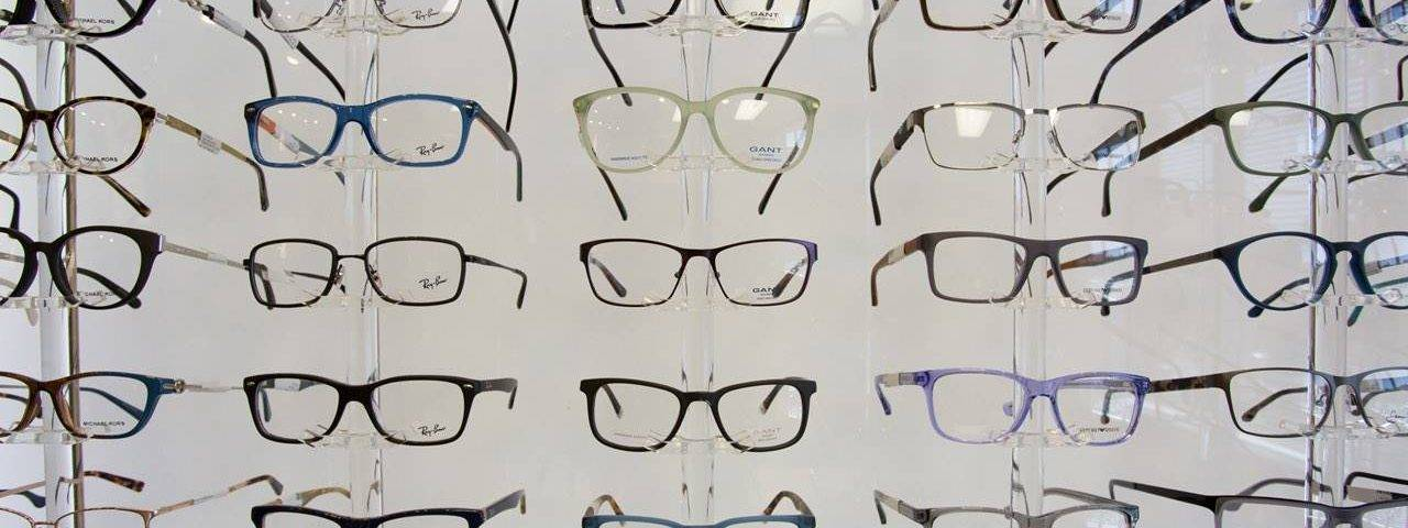 glasses full wall display