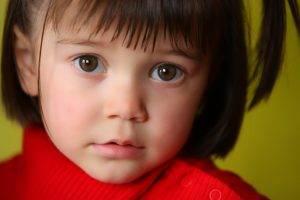 Eye care, little girl in Charlotte, NC