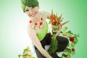 nutrition and eye health girl