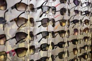 sunglasses wall display